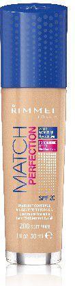 Rimmel  Podkład Match Perfection nr 200 soft beige 30ml 1