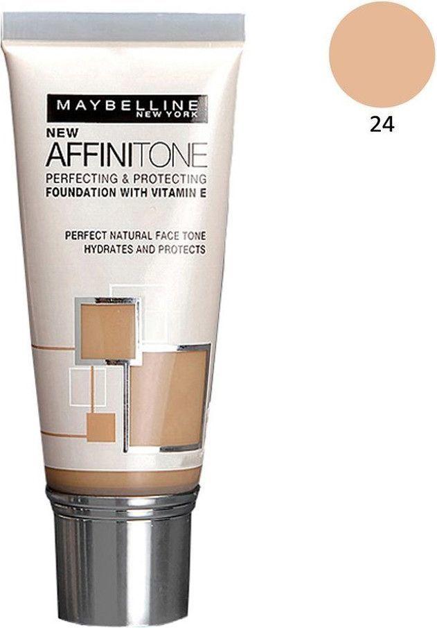 Maybelline  Affinitone w tubie 24 Golden Beige 30ml 1