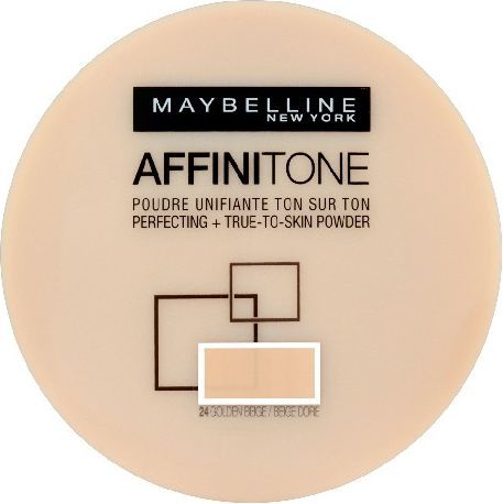 Maybelline  Affinitone Puder w kamieniu nr 24 golden beige 9g 1