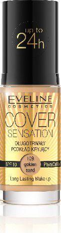 Eveline Podkład Cover Sensation kryjący nr 109 Golden Sand 30ml 1