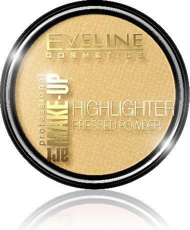 Eveline Art Professional Make-up Puder prasowany rozświetlający nr 55 Golden 1