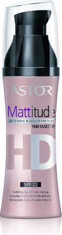 Astor  Podkład matujący do twarzy Mattitude HD nr 002 porcelain 30ml 1
