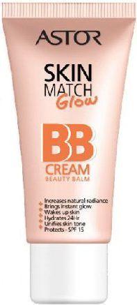 Astor  Krem BB Skin Match Glow nr 200 Nude 30 ml 1