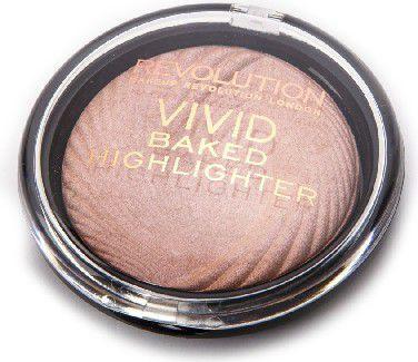 Makeup Revolution Vivid Baked Rozświetlacz do twarzy Peach Lights 7.5 g - 733163 1