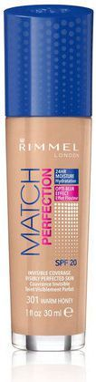 Rimmel  Podkład Match Perfection nr 301 warm honey 30ml 1