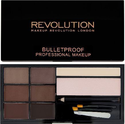 Makeup Revolution Ultra Brow Zestaw do stylizacji brwi Medium to Dark 1