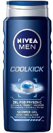 Nivea Żel pod prysznic Cool Kick for men 500ml 1