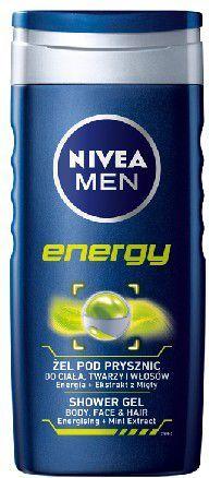 Nivea Żel pod prysznic Energy for men 250 ml 1