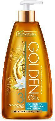 Bielenda Golden Oils Ultra Nawilżanie Olejek do kąpieli i pod prysznic 250ml 1