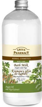 Green Pharmacy Płyn do kąpieli Olej Arganowy & Figi 1000ml 1