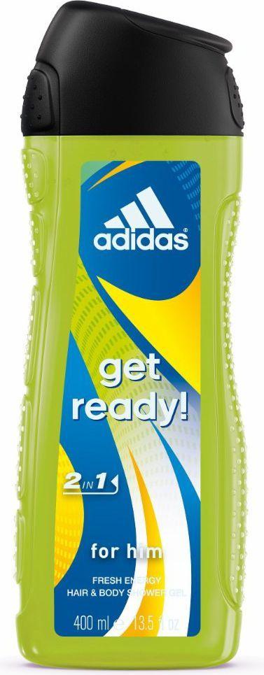 Adidas Get Ready for Him Żel pod prysznic 2w1 400ml 1