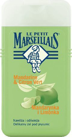 Le Petit Marseillais Żel pod prysznic Mandarynka-Limonka 250ml - 518413800 1