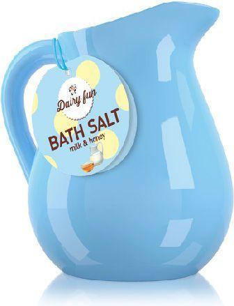 Dairy fun Sól do kąpieli Mleko & Miód w dzbanuszku 500g - 717994 1