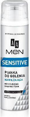AA Men Sensitive Pianka do golenia nawilżająca 250ml 1