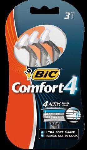 Bic Maszynka do golenia Comfort 4 Blister 3 1