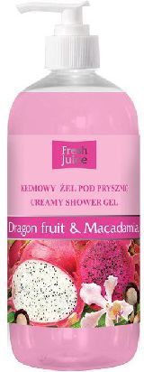 Fresh Juice Żel pod prysznic kremowy Smoczy Owoc i Macadamia 500ml - 812753 1