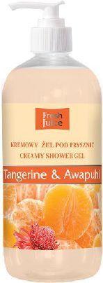 Fresh Juice Żel pod prysznic kremowy Liczi i Malina 500ml 1