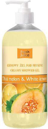 Fresh Juice Żel pod prysznic kremowy Melon i Biała Cytryna 500ml 1