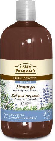 Green Pharmacy Żel pod prysznic Rozmaryn & Lawenda 500ml 1