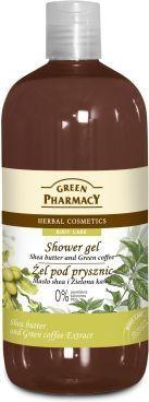 Green Pharmacy Żel pod prysznic masło shea & zielona kawa 500ml 1