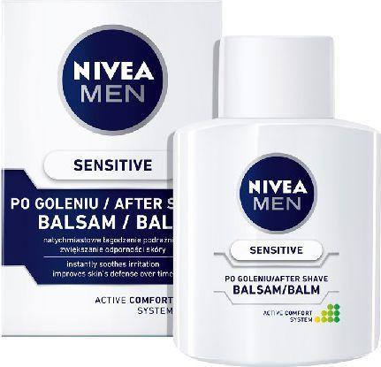 Nivea MEN Balsam po goleniu ŁAGODZĄCY 100 ml 1
