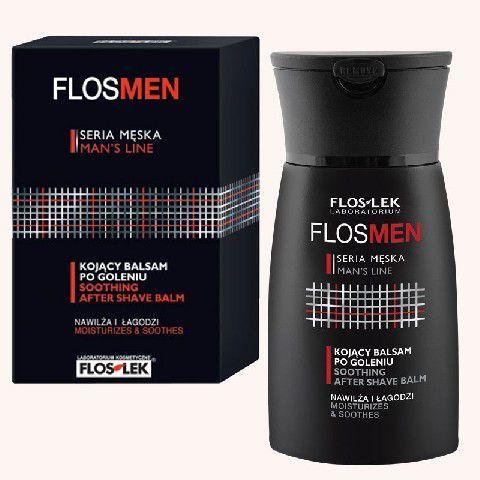 FLOSLEK FlosMen Kojący balsam po goleniu nawilża i łagodzi 100 ml 1