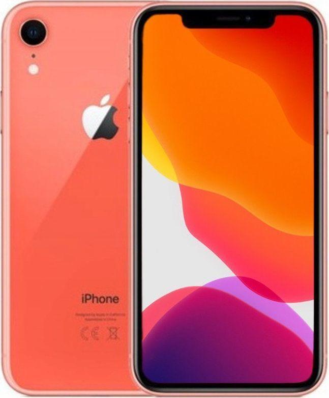 Smartfon Apple Apple iPhone XR Coral 64GB Smartfon - Klasa A+ 1