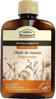 Green Pharmacy Olejek do masażu Rozgrzewający 200ml 1