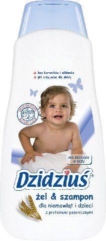 Dzidziuś  Żel Szampon dla niemowląt i dzieci z proteinami pszenicznymi 500ml 1