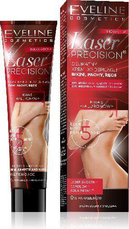 Eveline Laser Precision Krem do depilacji bikini,pach i rąk 5-minutowy 125ml 1
