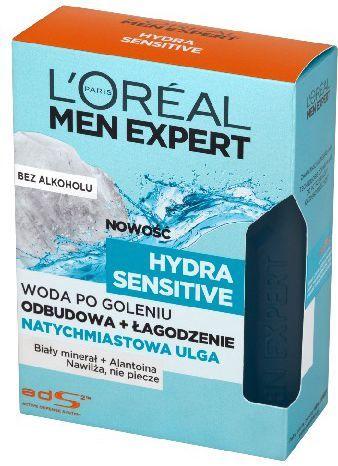 L'Oreal Paris Men Expert Hydra Sensitive Woda po goleniu bez alkoholu 100ml 1