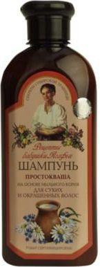Babuszka Agafia Szampon Zsiadłe mleko włosy suche i farbowane 350 ml 1