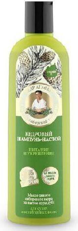 Babuszka Agafia Szampon nalewka cedrowy Odżywienie i Wzmacnianie 280 ml 1