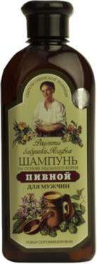 Babuszka Agafia Szampon piwny dla mężczyzn przeciw wypadaniu włosów 350 ml 1