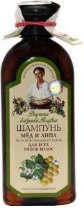 Babuszka Agafia Szampon miód i lipa dla wszystkich włosów 350 ml 1
