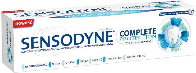 Sensodyne Pasta do zębów Complete Protection 75 ml 1
