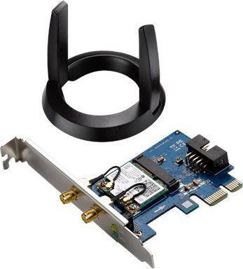 Karta sieciowa Asus AC1200 Dualband Bluetooth 4.0 WiDi (PCE-AC55BT) 1