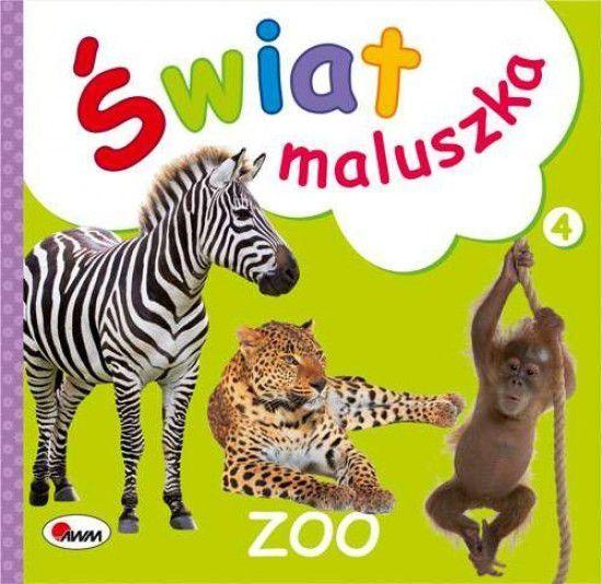 Książeczka Świat maluszka Zoo - 9788380360938 1
