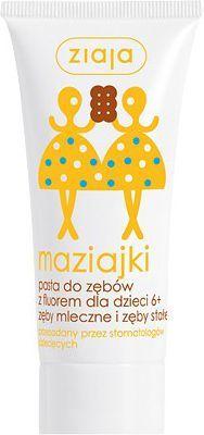 Ziaja Maziajki pasta do zębów dla dzieci 50 ml 1