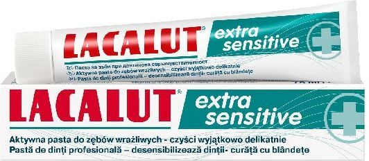 Lacalut  Pasta do zębów Extra Sensitive 75 ml 1