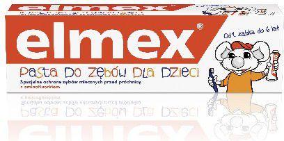 Elmex  Pasta do zębów Dla Dzieci 0 do 6 lat 50 ml 1