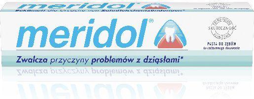 Meridol  Regeneracja podrażnionych dziąseł Pasta do zębów 75 ml 1