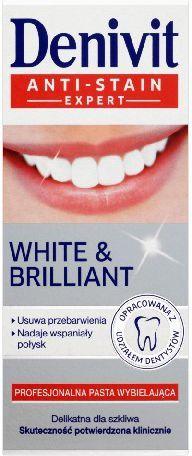 Denivit Pasta do zębów White&Brillant 50 ml 1