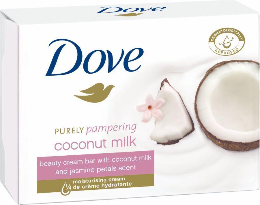 Dove  Coconut Milk Mydło w kostce 100g 1