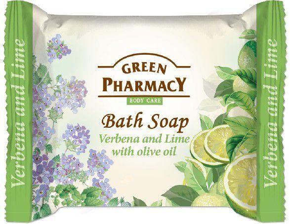 Green Pharmacy Mydło w kostce Body Care Verbena and Lime 100g 1