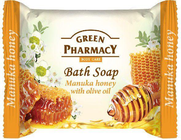 Green Pharmacy Mydło w kostce Body Care Manuka Honey 100g 1