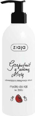 Ziaja Mydło Do Rąk W Żelu Grapefruit z Miętą 270ml 1