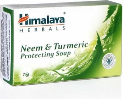 Himalaya Mydło w kostce oczyszczające Neem & Turmeric 75g 1
