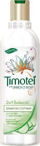 Timotei Szampon 2w1 Świeżość - ogórek 250 ml 1