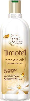Timotei Szampon do włosów Precious Oils drogocenne olejki nawilżający 400ml 1